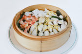 Mixed seafood — Stock Photo