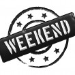 Stock Photo: Stamp - WEEKEND