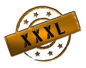 Stamp - XXXL — Stock Photo