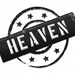 Stamp - HEAVEN — Stock Photo