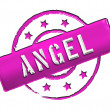 Stamp - ANGEL — Stock Photo
