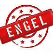 Stamp - ENGEL — Stock Photo