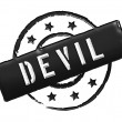Stamp - DEVIL — Foto Stock