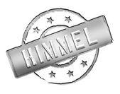 Stamp - HIMMEL — Stock Photo
