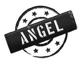 Stamp - ANGEL — Stock Photo