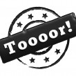 Royalty-Free Stock Photo: Stamp - Toooor!