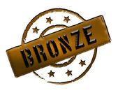 Stamp - Bronze — Stock Photo