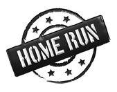 Stamp - HOME RUN — Stock Photo