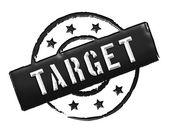 Stamp - TARGET — Stock Photo