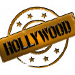 Stock Photo: Stamp - HOLLYWOOD