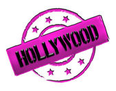 Stamp - HOLLYWOOD — Stock Photo