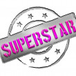 Stamp - SUPERSTAR — Stock Photo #10929248