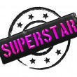 Stamp - SUPERSTAR — Stock Photo #10930103