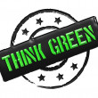 Stamp - THINK GREEN — Stock Photo #10932357