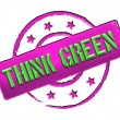 Stamp - THINK GREEN — Stock Photo #10932468