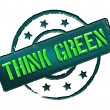 Stamp - THINK GREEN — Stock Photo #10932947