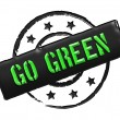 Stamp - GO GREEN — Stock Photo #10933600