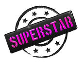 Stamp - SUPERSTAR — Foto de Stock