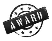Stamp - AWARD — Stock Photo