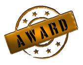 Stamp - AWARD — Stock Photo