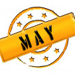 Stamp - MAY — Stock Photo #10942957