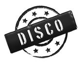 Stamp - DISCO — Stock Photo
