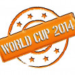 Stamp - World Cup 2014 — Stock Photo #11028219