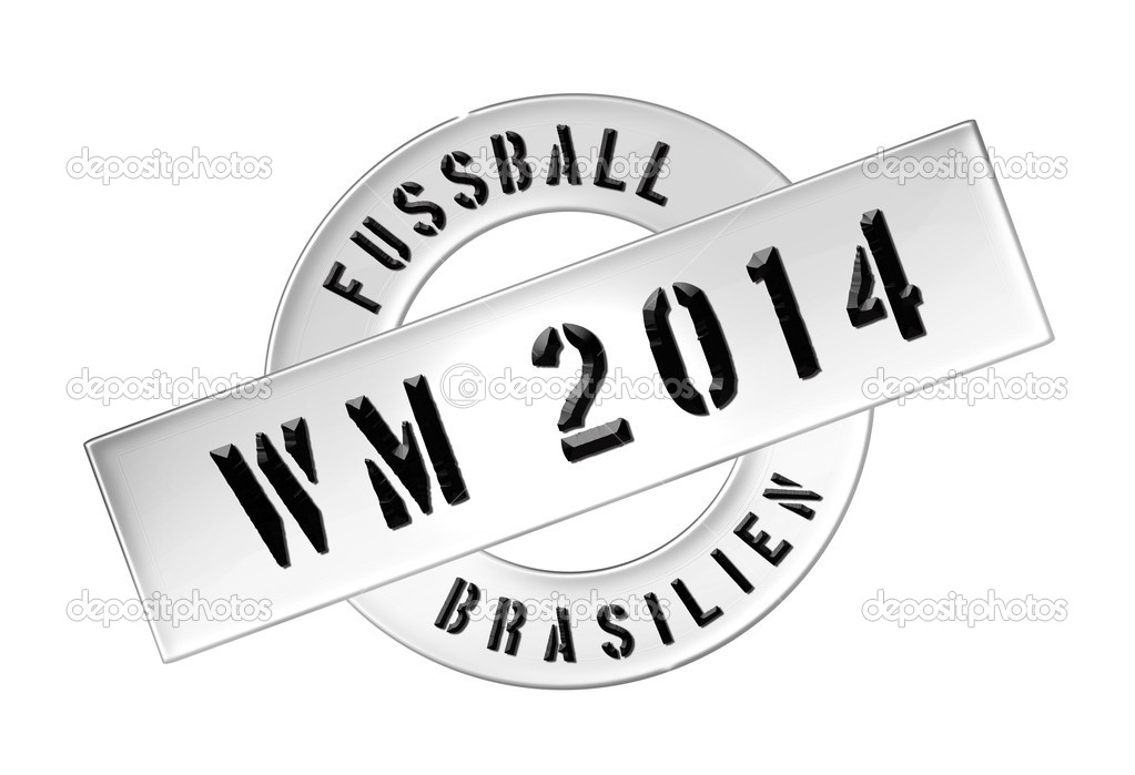 Illustration of the World Cup 2014 in Brazil as Banner for your presentation, website, inviting... — Stock Photo #11073143