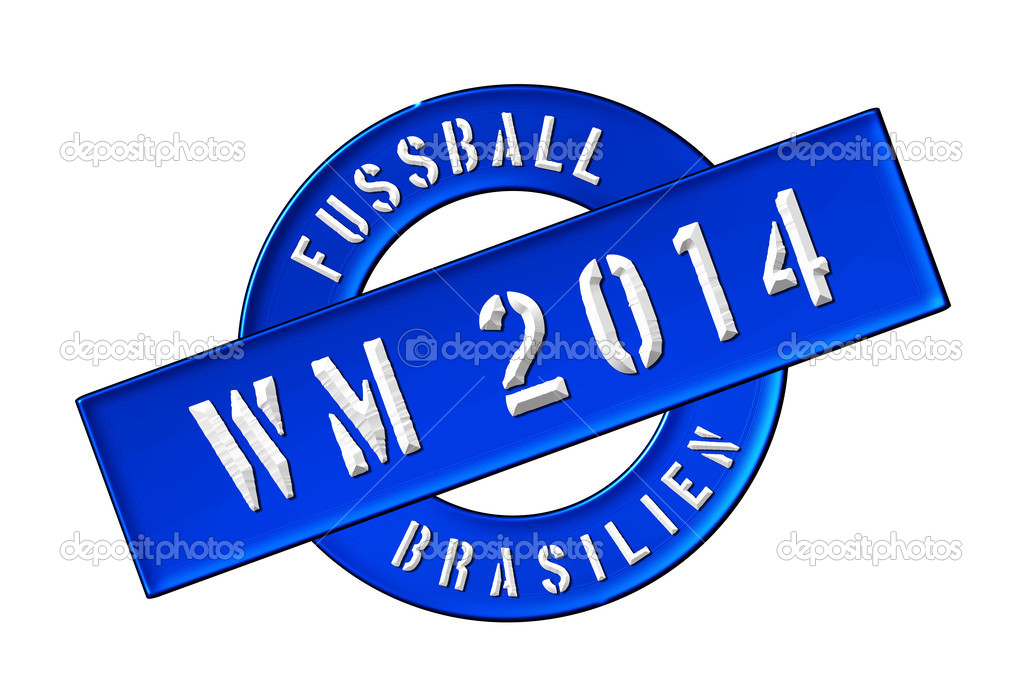 Illustration of the World Cup 2014 in Brazil as Banner for your presentation, website, inviting... — Stock Photo #11073175