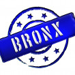 Stamp - BRONX — Stock Photo
