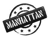 Stamp - MANHATTAN — Stock Photo