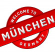 Stock Photo: WELCOME TO MÜNCHEN