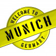WELCOME TO MUNICH — Foto de Stock