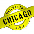Stock Photo: WELCOME TO CHICAGO