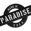 Made in PARADISE — Foto de Stock