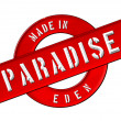 Made in PARADISE — Foto Stock