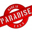 Made in PARADISE — Stock Photo