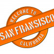Stock Photo: WELCOME TO SAN FRANSISCO