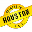 WELCOME TO HOUSTON — Stok fotoğraf