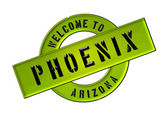 WELCOME TO PHOENIX — Stock Photo