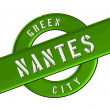 Stock Photo: GREEN CITY NANTES