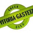 Stock Photo: GREEN CITY Vitoria-Gasteiz