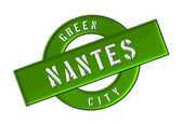 GREEN CITY NANTES — Stock Photo