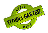 GREEN CITY Vitoria-Gasteiz — Stock Photo