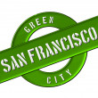 Stock Photo: GREEN CITY SAN FRANCISCO