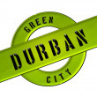 GREEN CITY DURBAN - Stock Photo