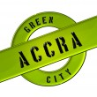 GREEN CITY ACCRA — Stock Photo #11246935