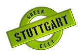 GREEN CITY STUTTGART — Stock Photo