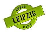 緑の都市ライプツィヒ — ストック写真