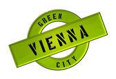 Зеленый город Вена — Стоковое фото